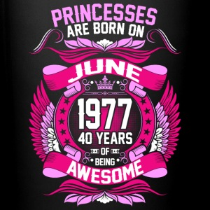 Princesses Are Born On June 1977 40 Years - Full Color Mug
