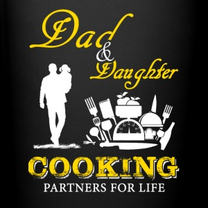 Dad and Daughter Cooking T-Shirts - Full Color Mug