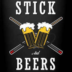 Billiard Lover - Stick And Beers - Full Color Mug