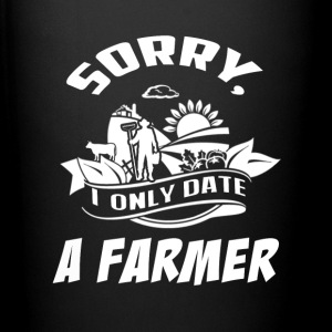 I only date a Farmer T Shirts - Full Color Mug