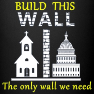 Build This Wall Secularism - Full Color Mug