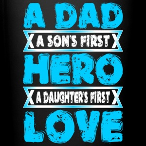 A Dad Sons First Hero Daughters First Love - Full Color Mug