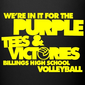 We're In It For The Purple Tees & Victories Billin - Full Color Mug