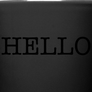 Hello - Full Color Mug