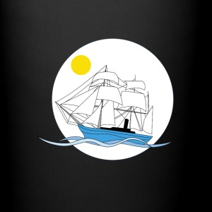 Morning tall ship - Full Color Mug