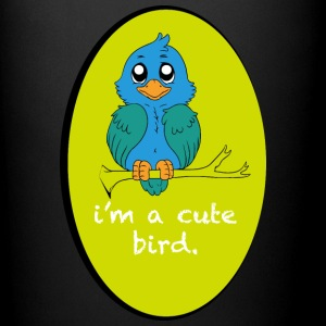 I m a cute bird - Full Color Mug