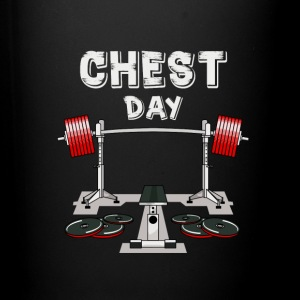 Chest Day T-shirt - Full Color Mug