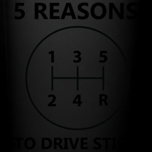 5 reasons to drive stick - Full Color Mug