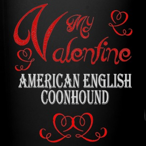 A romantic Valentine with my American English Coon - Full Color Mug