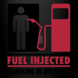 Fuel Injected Gasoline In My Veins T Shirt - Full Color Mug