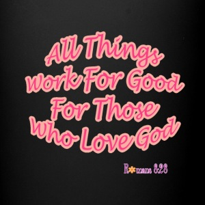 Romans 8:28 - Full Color Mug
