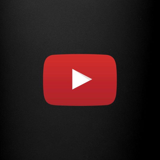 YouTube logo play icon