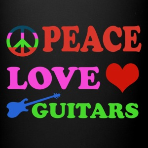 Peace love Guitars - Full Color Mug