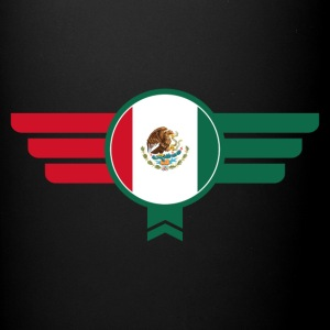 Mexico Badge Emblem Flag - Full Color Mug