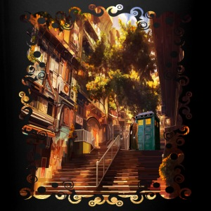 Time Traveler Lost in China town - Full Color Mug