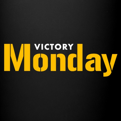 Victory Monday (Black/2-sided) - Full Color Mug