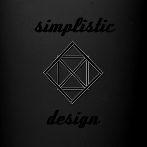 Simplistic Design Logo With Text - Full Color Mug