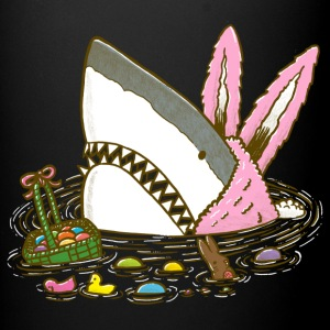 The Easter Shark, Funny Easter,Cute Bunny In Shark - Full Color Mug