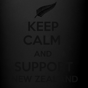 Keep Calm and support New Zealand - Full Color Mug
