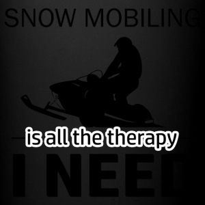 Snow Mobiling is my therapy - Full Color Mug