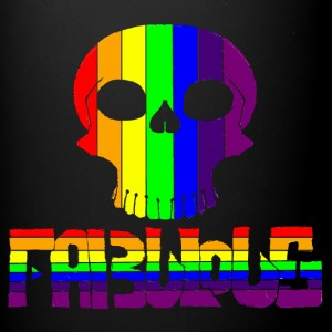 Fabulous Rainbow skull - Full Color Mug