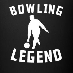 Bowling Legend Bowler Silhouette Cool Sports - Full Color Mug