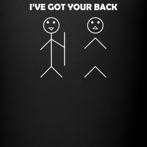 I've got your back stick figure - Full Color Mug