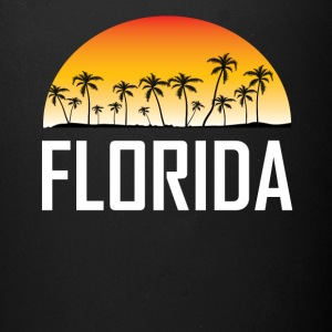 Florida Sunset And Palm Trees Beach Vacation - Full Color Mug