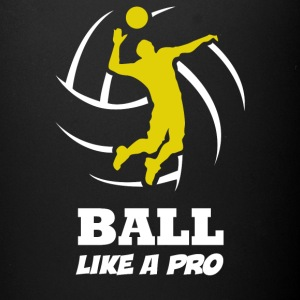 Volleyball Player Ball Like a Pro - Full Color Mug