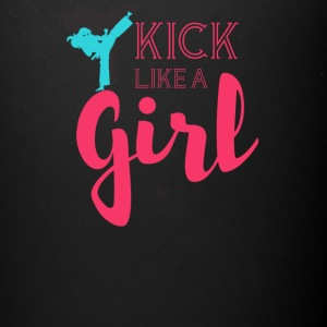 Kick like a girl - Full Color Mug