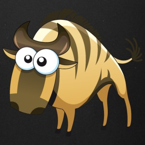 Buffalo bull bison animal wildlife vector image - Full Color Mug