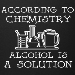 Chemistry Alcohol Is A Solution T Shirt - Full Color Mug