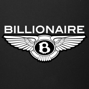 Billionaire - Wings Design (White Letters/Black) - Full Color Mug
