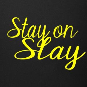 stay on slay yellow - Full Color Mug