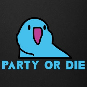 PARTY OR DIE - Blue Party Parrot - Full Color Mug