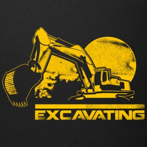 Heavy machinery excavating cool art - Full Color Mug