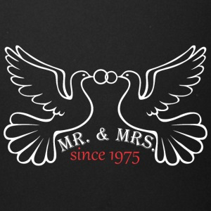 Mr And Mrs Since 1975 Married Marriage Engagement - Full Color Mug