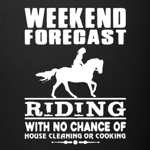 WEEKEND FORECAST RIDING TEE SHIRT - Full Color Mug