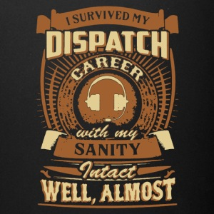 Retired Dispatcher Tee Shirt - Full Color Mug