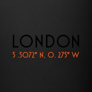 London CoordinateLondon Coordinate - Full Color Mug