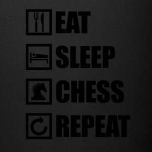 EAT SLEEP CHESS REPEAT - Full Color Mug