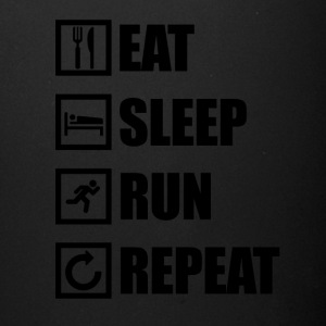 EAT SLEEP RUN REPEAT - Full Color Mug