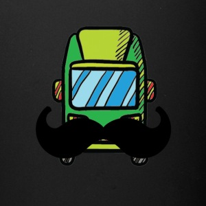 Hip Camper or Van with a Mustache - Full Color Mug