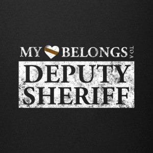 My Heart Belongs To A Deputy Sheriff T Shirt - Full Color Mug