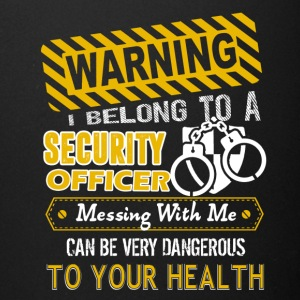 I Belong To A Security Officer Shirt - Full Color Mug