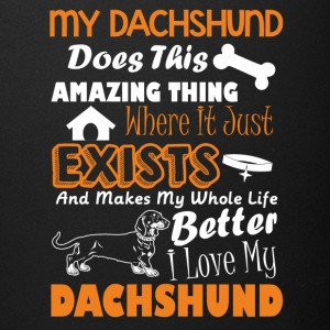Amazing Dachshund Tee Shirt - Full Color Mug