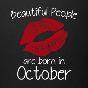 Beautiful people are born in October - Full Color Mug