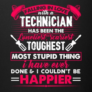 Falling In Love With A Technician Tee Shirt - Full Color Mug