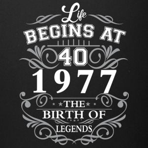 Life begins at 40 1977 The birth of legends - Full Color Mug
