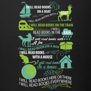 I will read books here or there and everywhere - Full Color Mug